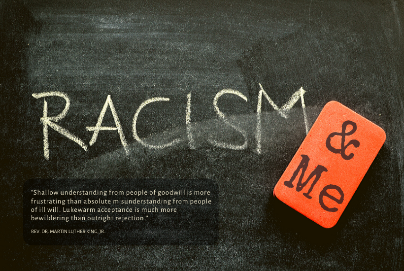My awakening to the racism around me.