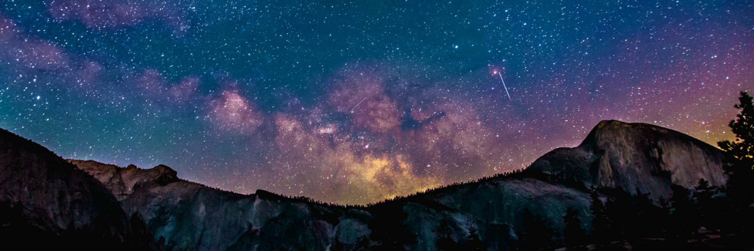 Starry Sky Slider Image