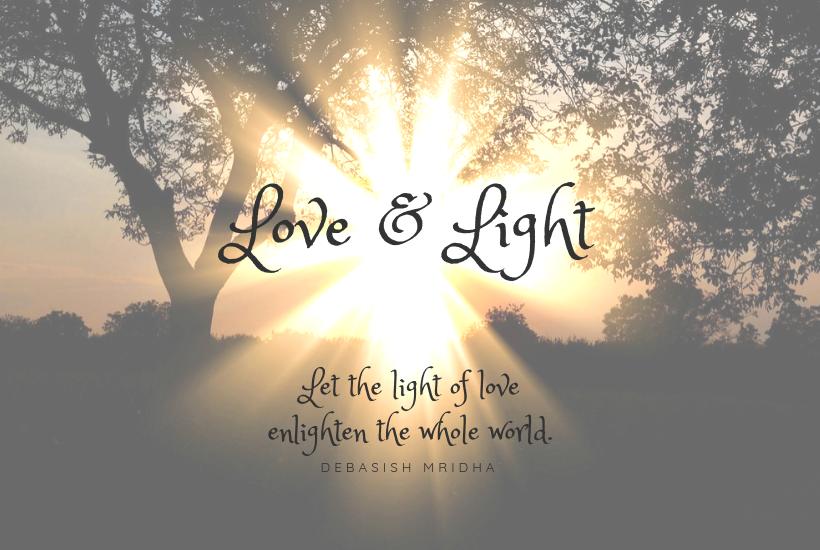 Light & Love illuminate a morning sky.